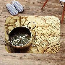N/A 3d printed indoor door mat Compass Bath Mats