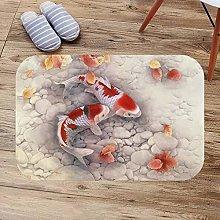 N/A 3d printed indoor door mat Fancy carp&Koi