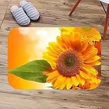 N/A 3d printed indoor door mat Sunflowers Bath