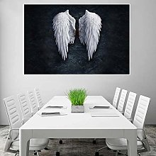 N/A 3D Printing Canvas Painting Modern White