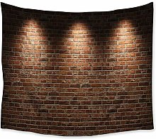 N / A Tapestry Stone Wall Lighting Tapestry Wall