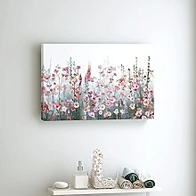N/A Canvas Painting Poster Print Flower Wall Art