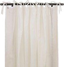 N°74 - Cotton Stretch One Layer Curtain - cotton