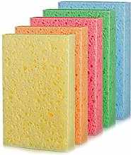 N&A 18 Pieces Cleaning Scrub Sponge, Cellulose
