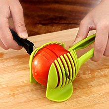 N A 1Pc Fruit Vegetables Slicer,Round Tomato Lemon