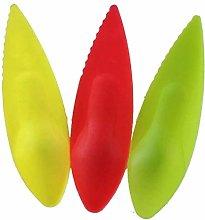 N /A 2 in 1 Kiwi Plastic Spoon Fruit Knife Slicer