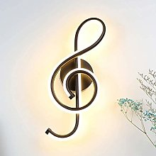 N / A 22W LED Wall Light Music Clef Shape Next To