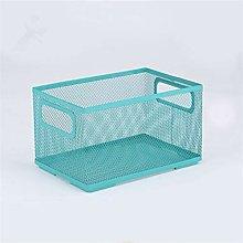 N A 23 * 15 * 13cm home storage net basket file