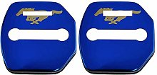N/A 2Pcs Car Styling Door Lock Cover, For Ford