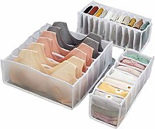 N / A 3 Sets of Foldable Drawer Storage Boxes,
