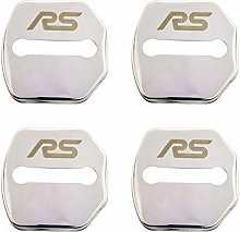N/A 4Pcs Car Styling Door Lock Cover, For Ford