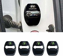 N/A 4Pcs Car Styling Door Lock Cover, For Hyundai