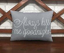 N/ A 50 OFF Sale Always Kiss Me Good Night Cushion