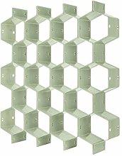 N / A 8 pcs Honeycomb Drawer Organizer DIY Closet