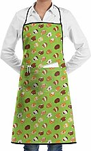 N\A Adjustable Aprons With Handy Pocket, Cute