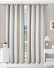 N\A APLUS1 Window Curtain with Eyelets Jacquard