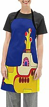 N\A Apron Cooking Apron Waterproof with Extra Long