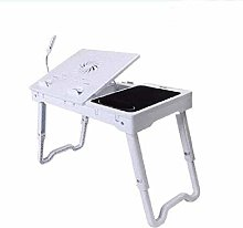 N\A AY Foldable Lap Desk Stand, Adjustable Laptop
