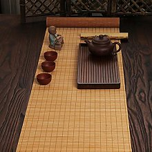 N / A Bamboo Table Runner, Long Table Cloth for