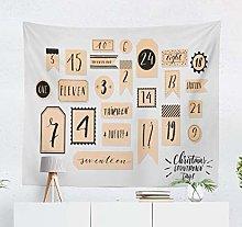 N\A Black Twenty Four Tapestry Decorative Tapestry