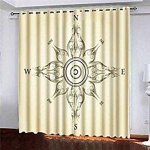 N / A Cafe Window Curtain Rod, Large Window