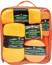 N / A Car Cleaning Kit Microfiber Towel Chenille
