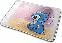 N\A Cartoon Lilo Stitch Rug, Bath Mat Super Soft