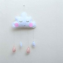 N\A Children tent decoration cloud felt raindrop