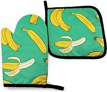 N\A Cool Pillow Banana Green Food and Drink Banana