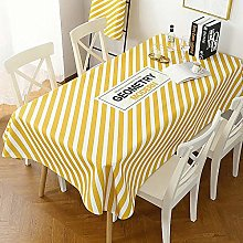 N / A CZCBD Tablecloth Thick Cotton And Linen