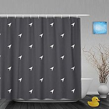 N\A Decoration Shower Curtain Arrow Cursor Pattern