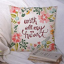 N\A Decorative Throw Pillow Cover Polyester Frame