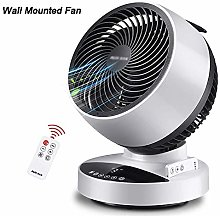 N / A Desk Fan 30W Noiseless Fan Air Circulator