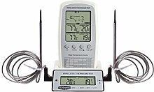 N/A. Digital BBQ Dual Probe Thermometer Wireless