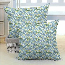 N\A Floral Bed or Sofa Pillows Case Romantic