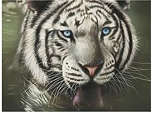 N\A For Kid Adult Toy Gift Puzzle - White Tiger