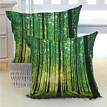 N\A Forest Bed or Sofa Pillows Case for Your
