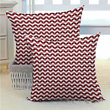 N\A Geometric Bed or Sofa Pillows Case Curved