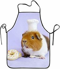 N\A Guinea Pig Aprons for Women and Men, Kitchen