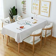 N / A GYCBD Tablecloth Simple Thick Cotton Linen