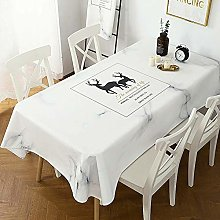 N / A GYCBD Tablecloth Thick Cotton And Linen