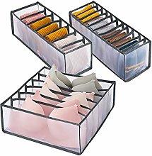 N\A Hibtn 3 PCS Underwear Drawer Organiser, Drawer
