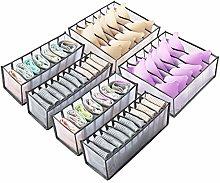 N\A Hibtn 6 PCS Underwear Drawer Organiser, Drawer
