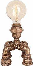 N \ A Industrial Steam Punk Lamp, Retro Table