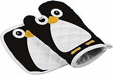 N/A Insulation gloves Cute Vector Penguin
