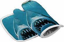 N/A Insulation gloves Shark Attack Painting