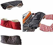 N / A Kids Winter Warm Stroller Gloves Pushchair
