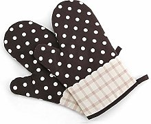 N / A Kitchen baking high temperature gloves, pure