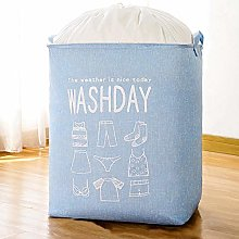 n / a Large laundry basket with handles, folding
