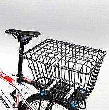 N / A latest Rear Bike Basket – Metal Wire